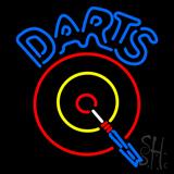 Darts Room Neon Sign
