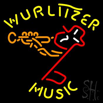 Wurlitzer Music Neon Sign