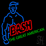 Wwe The Great American Bash Neon Sign