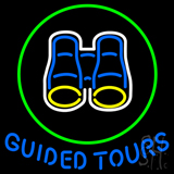 Guided Tours Neon Sign