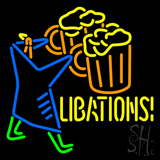 Libations Neon Sign