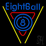 8 Ball Pool Neon Sign