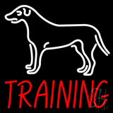 Dog Training Neon Sign