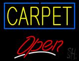 Carpet Script2 Open Neon Sign