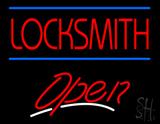 Locksmith Script2 Open Neon Sign