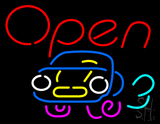 Car Open Neon Sign