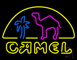 Camel Palm Neon Sign