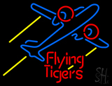 Flying Tigers Airplane LED Neon Sign