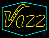 Yellow Jazz Room Neon Sign