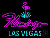 Large Flamingo Hotel Las Vegas Neon Sign