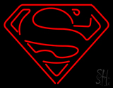 Superman Returns S-Shield Neon Sign