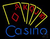 Casino Cards Neon Sign