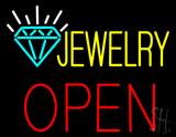 Jewelry Block Open Neon Sign
