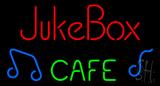 Juke Box Cafe Neon Sign