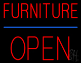 Furniture Block Open Neon Sign