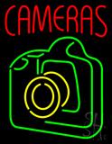 Cameras Neon Sign