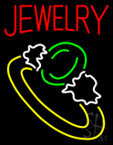 Jewelry Ring Logo Neon Sign