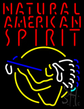 Natural American Spirit Indian Neon Sign