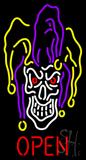 Evil Jester Neon Sign