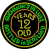 Buchanans 12 Year Old LED Neon Sign