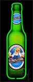 Saint St Pauli Girl Bottle Neon Sign