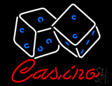 Casino Dice Neon Sign