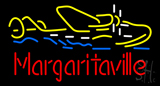 Margaritaville Seaplane LED Neon Sign