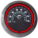 Speedometer 15 Inch Neon Clock