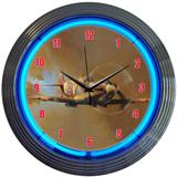 Spit Fire 15 Inch Neon Clock