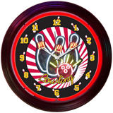 Bowling 15 Inch Neon Clock