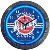 GM Buick Service - Chevy 15 Inch Neon Clock