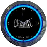 Chevelle 15 Inch Neon Clock