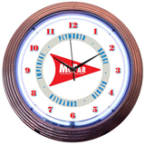 Mopar Arrow 15 Inch Neon Clock