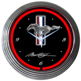 Ford Mustang 15 Inch Neon Clock
