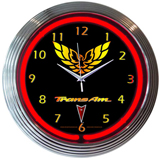 Gm Trans Am 15 Inch Neon Clock