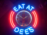 21 Inch Design Your Own Neon Clock Here