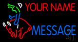 Custom - Bull Rider 2 LED Neon Sign