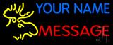 Custom - Moose Head Neon Sign