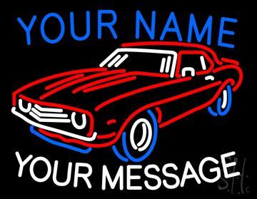 Custom - Car 10 Neon Sign