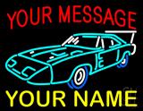 Custom - Car 12 LED Neon Sign
