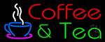 Red Coffee & Green Tea Neon Sign