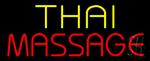 Yellow Thai Red Massage Neon Sign
