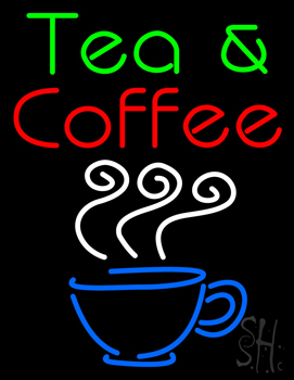 Tea and Coffee Neon Sign