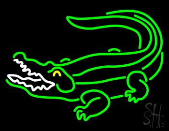 Crocodile Neon Sign