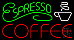 Espresso Coffee Neon Sign
