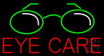 Eye Care Neon Sign