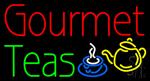 Gourmet Teas Neon Sign