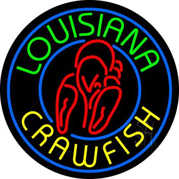 Louisiana Crawfish Neon Sign