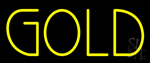 Yellow Gold Neon Sign