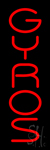 Gyros LED Neon Sign